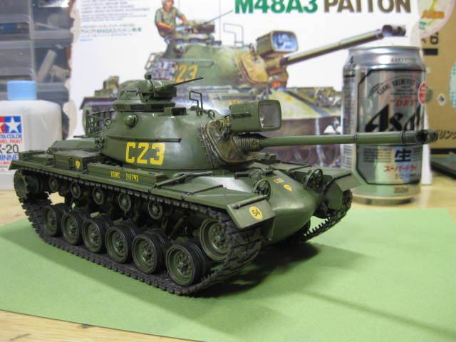 M48A3 タミヤ 塗装の6