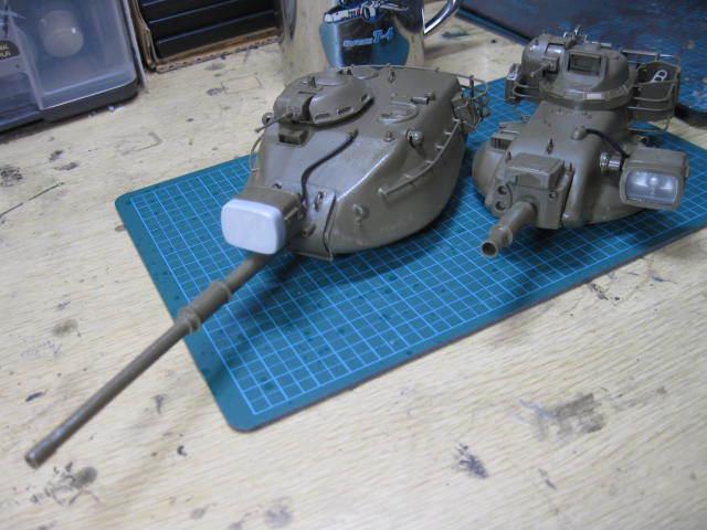 M60A1 & M60A2 塗装開始の2