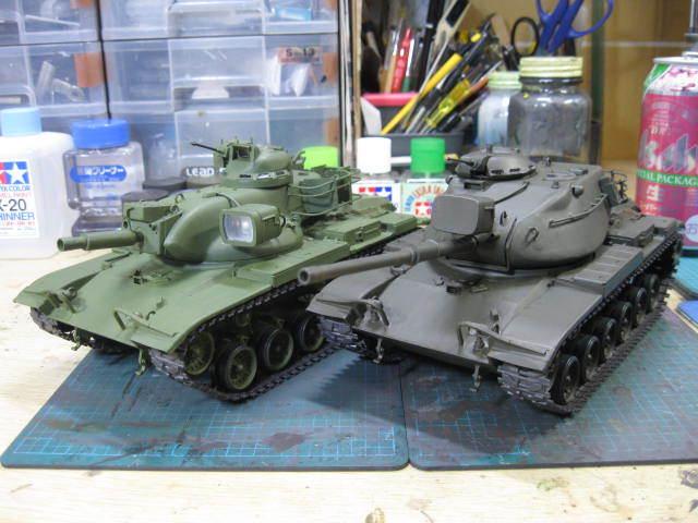 M60A1 & M60A2 基本塗装終了