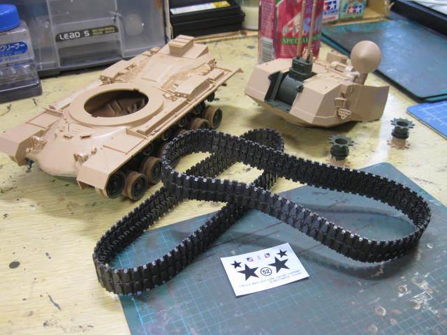 M247 塗装開始 も1
