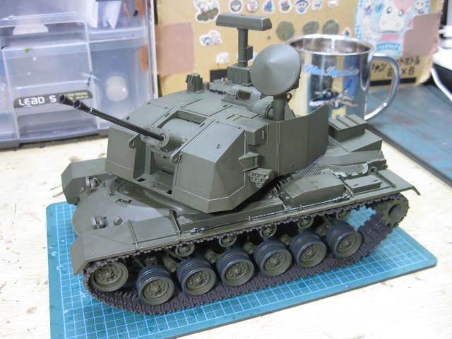 M247 塗装開始 の2