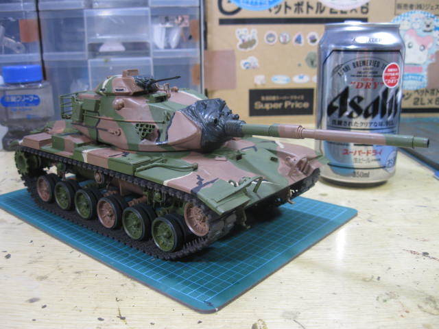 M60A3 迷彩開始の2