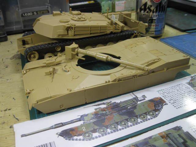 M1A1 NATO迷彩 の1