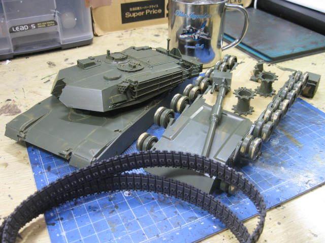 M1A1 NATO迷彩 の2