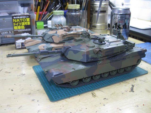 M1A1 NATO迷彩 の3
