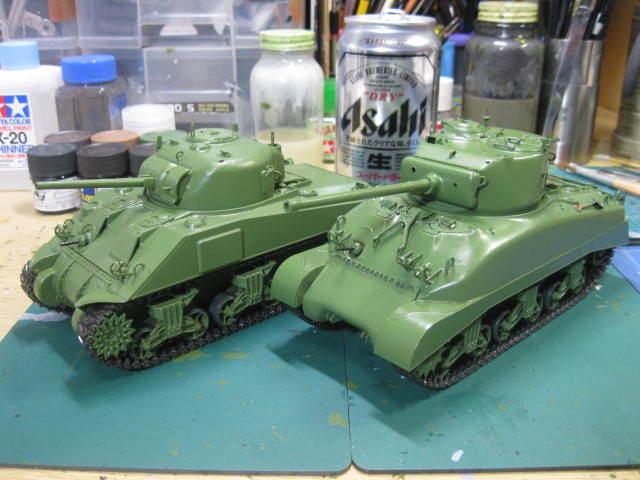 M4 サンダース 塗装の2