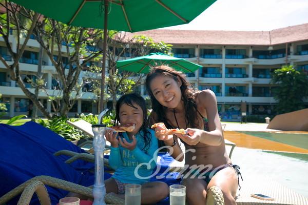 5つ星リゾートのプールで過ごす1日@SHANGRI-LA'S TANJUNG ARU RESORT&SPA滞在記♪
