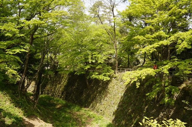 岡崎城のお堀