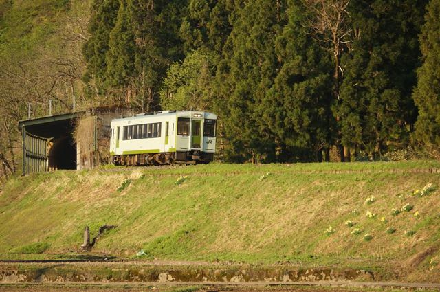 飯山線一番列車