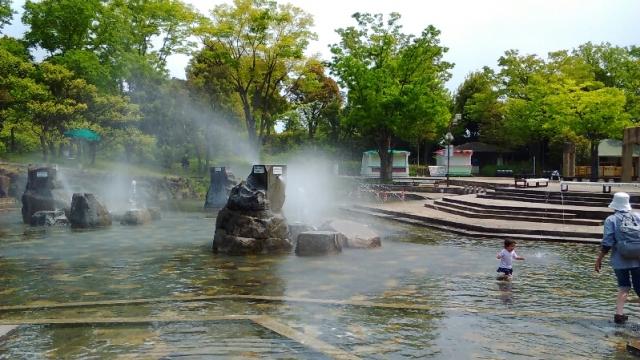府中郷土の森 の噴水