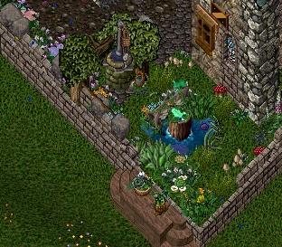 内装の続き 庭