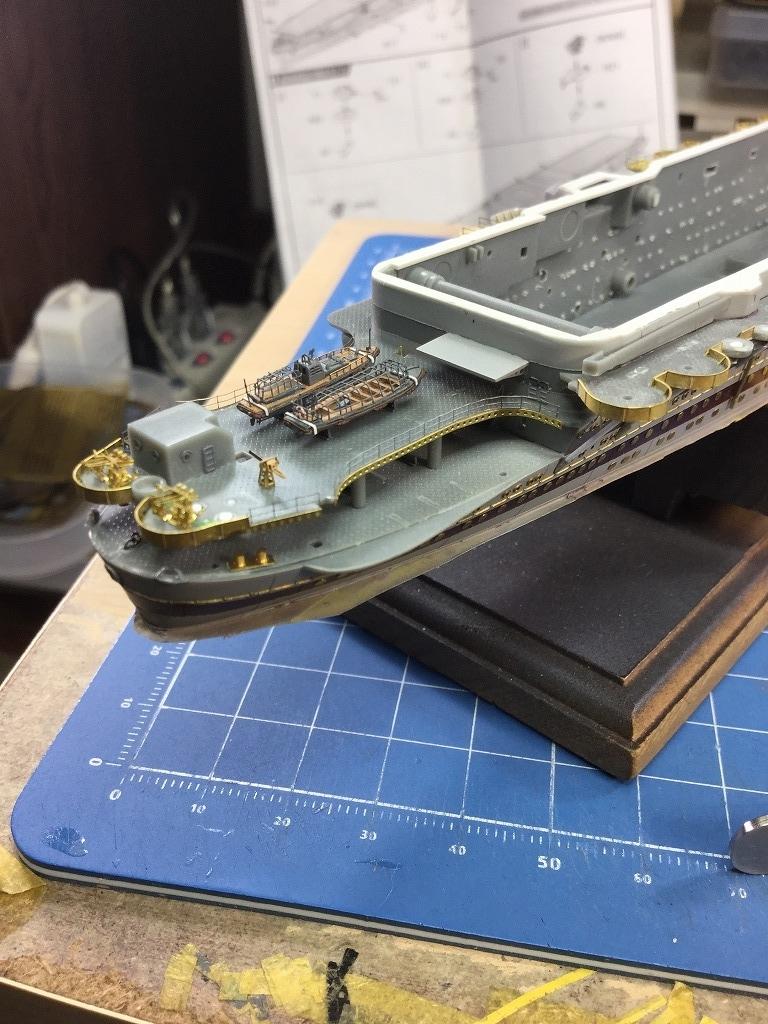 s-艦尾甲板工作
