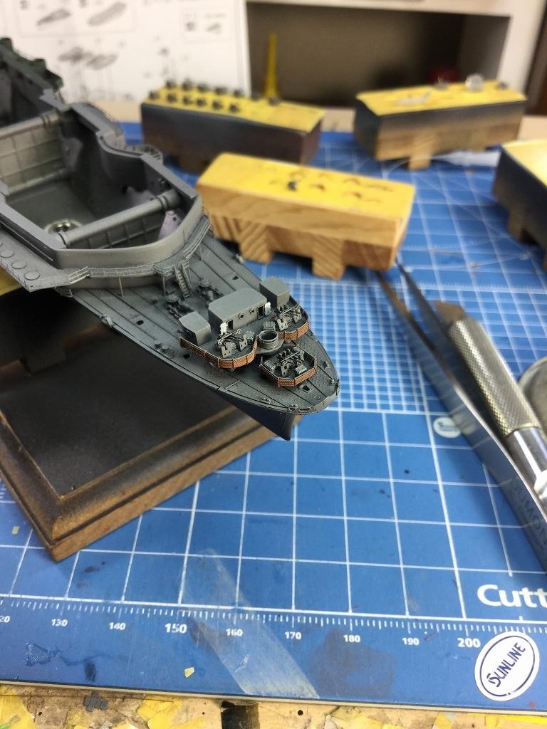 s-艦首機銃座艤装