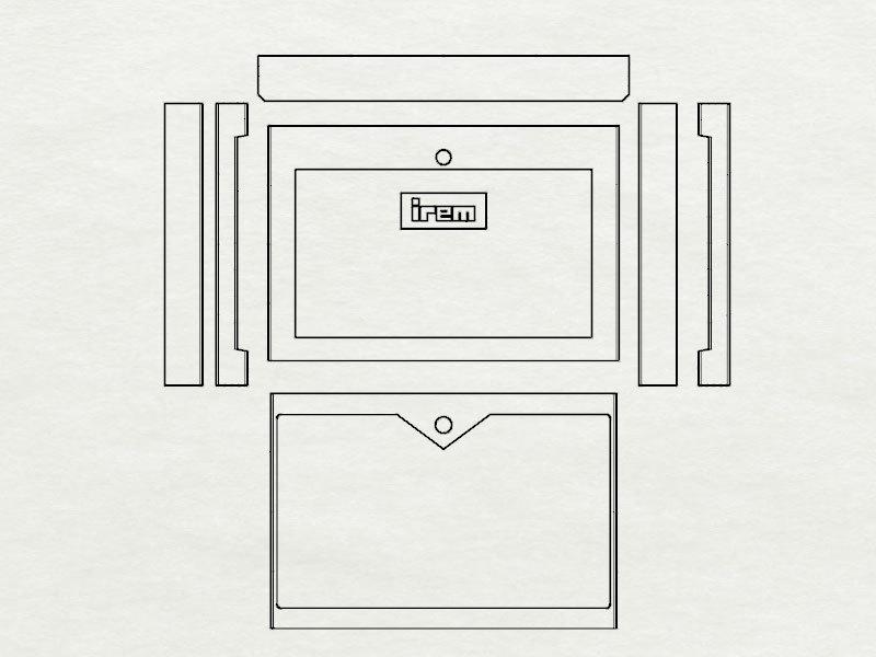 16bitModels スペランカー ボックス図面