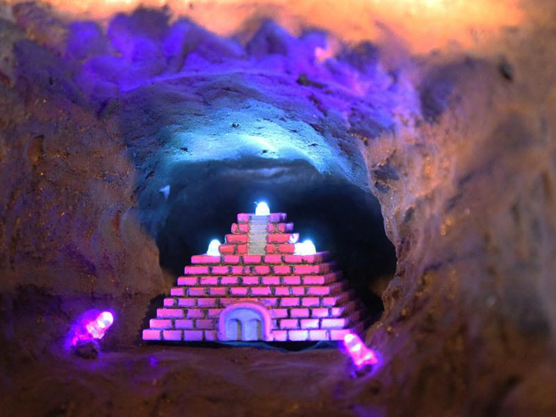 16bitModels スペランカー 神殿
