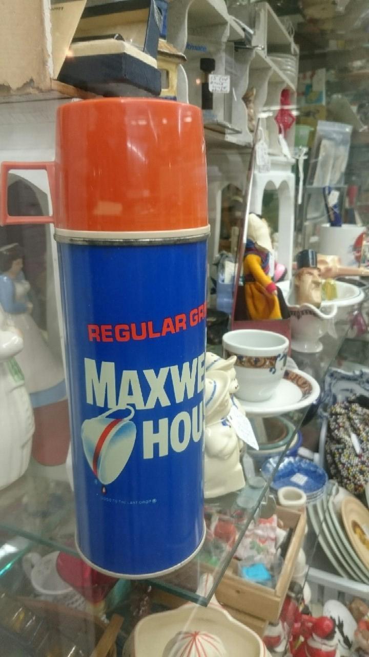 買い付け2日目Maxwell Houseサーモス