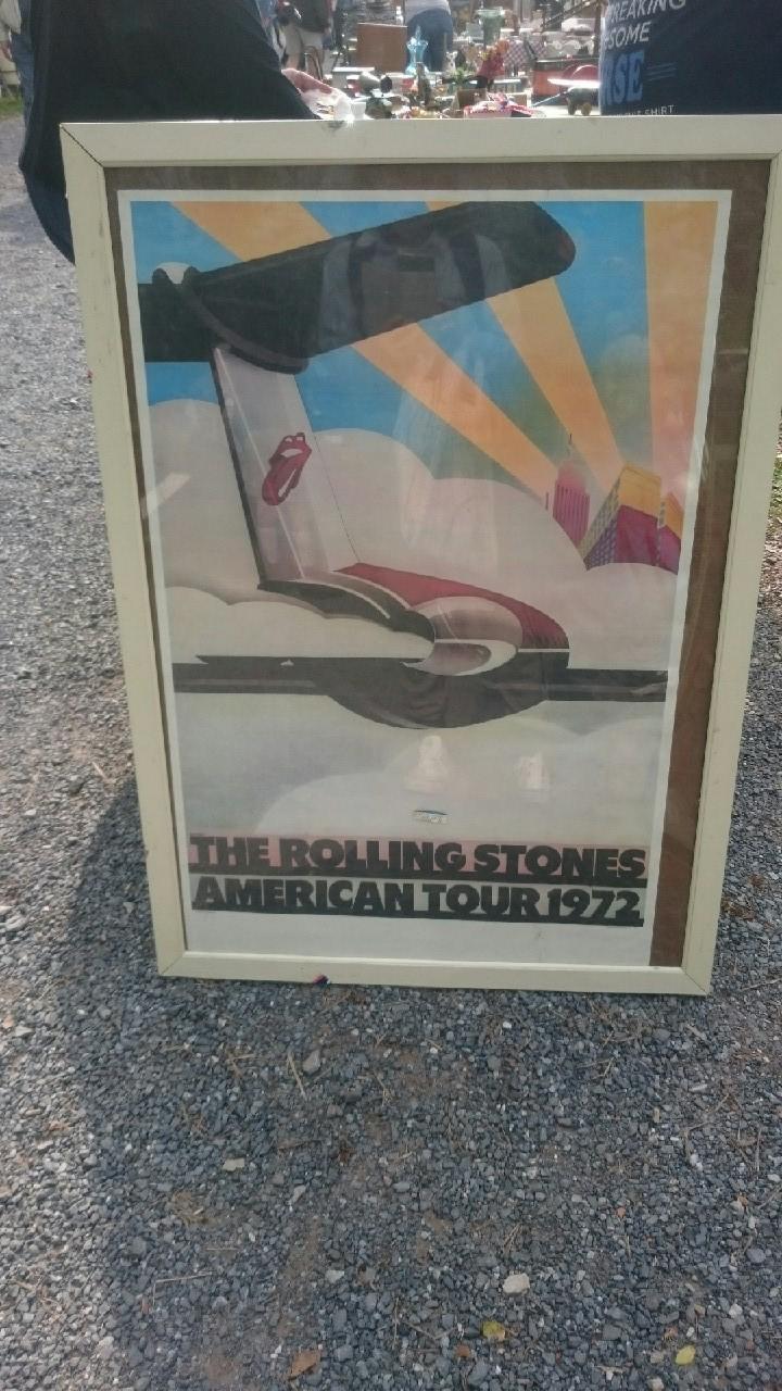 1705 アメリカ買い付け風景 1972ローリングストーンズ