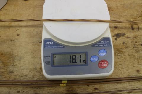 1ティップ重量