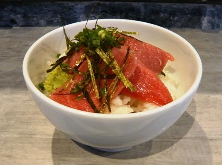 アトサキラーメン:セットマグロ丼