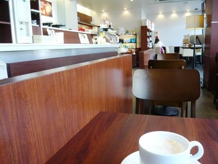 ドトールコーヒー:店内1