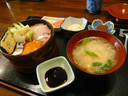 魚清:海鮮丼1