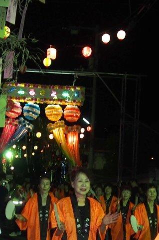 夏祭り 小松町ふるさと祭り  踊り