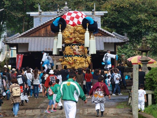 西条祭り 飯岡八幡神社宮入り