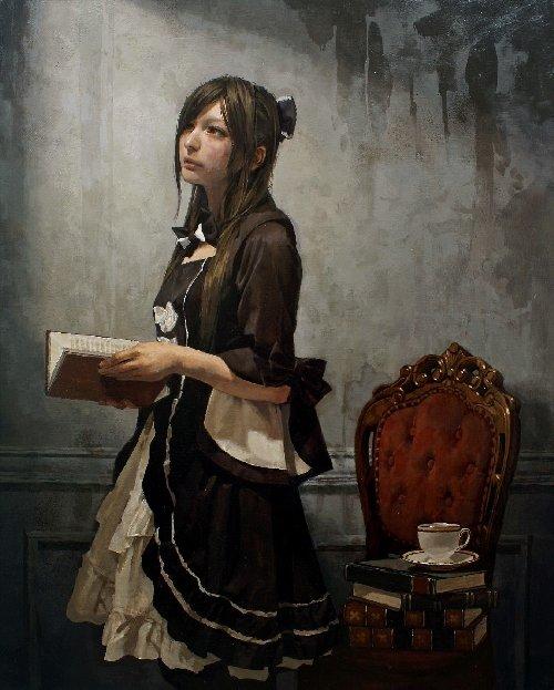 続・写実絵画3