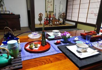 端午テーブル1