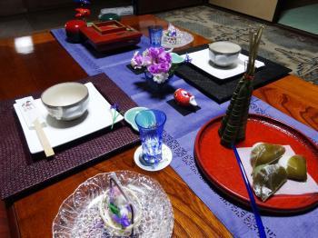 端午テーブル3