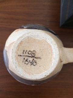 笠間焼マグカップ2