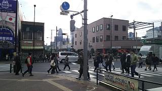 20161218大久保→新宿(その1)