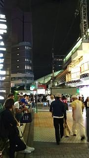 20160924夜の梅田(その1)