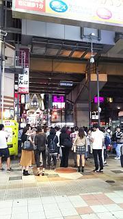 20160924夜の梅田(その5)