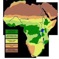 アフリカ気候Wikimedia