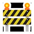 工事バリケードApple