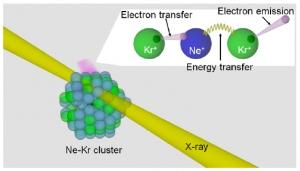Neon-Kripton cluster