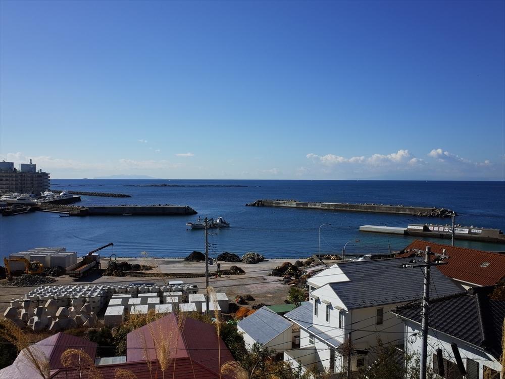 淡島神社前から芦名港