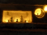 月山志津温泉雪旅籠の灯り19