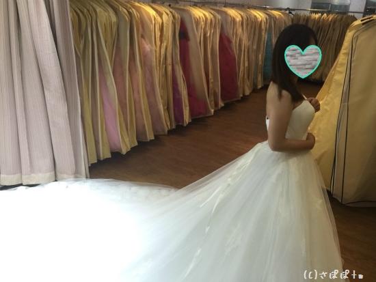 台湾結婚写真ドレス