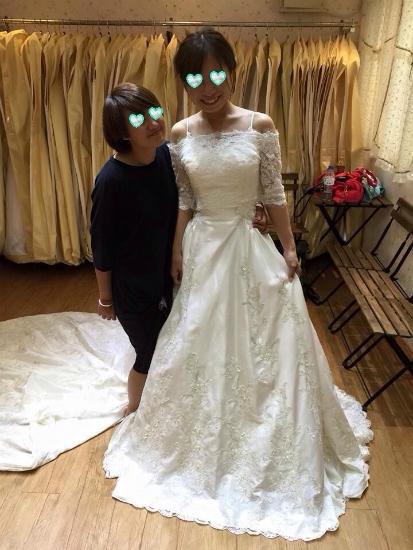台湾結婚写真ドレス2