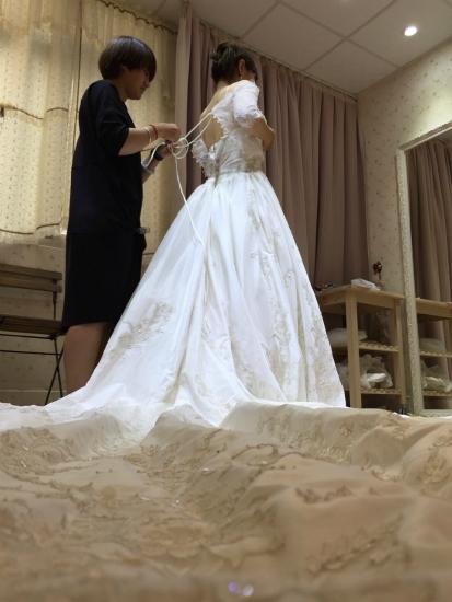 台湾結婚写真ドレス4