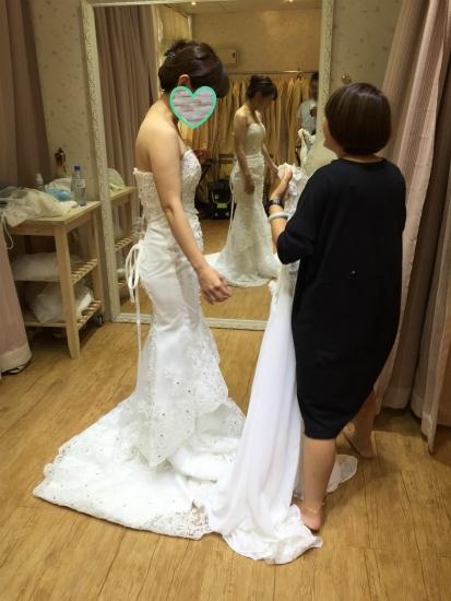 台湾結婚写真ドレス6