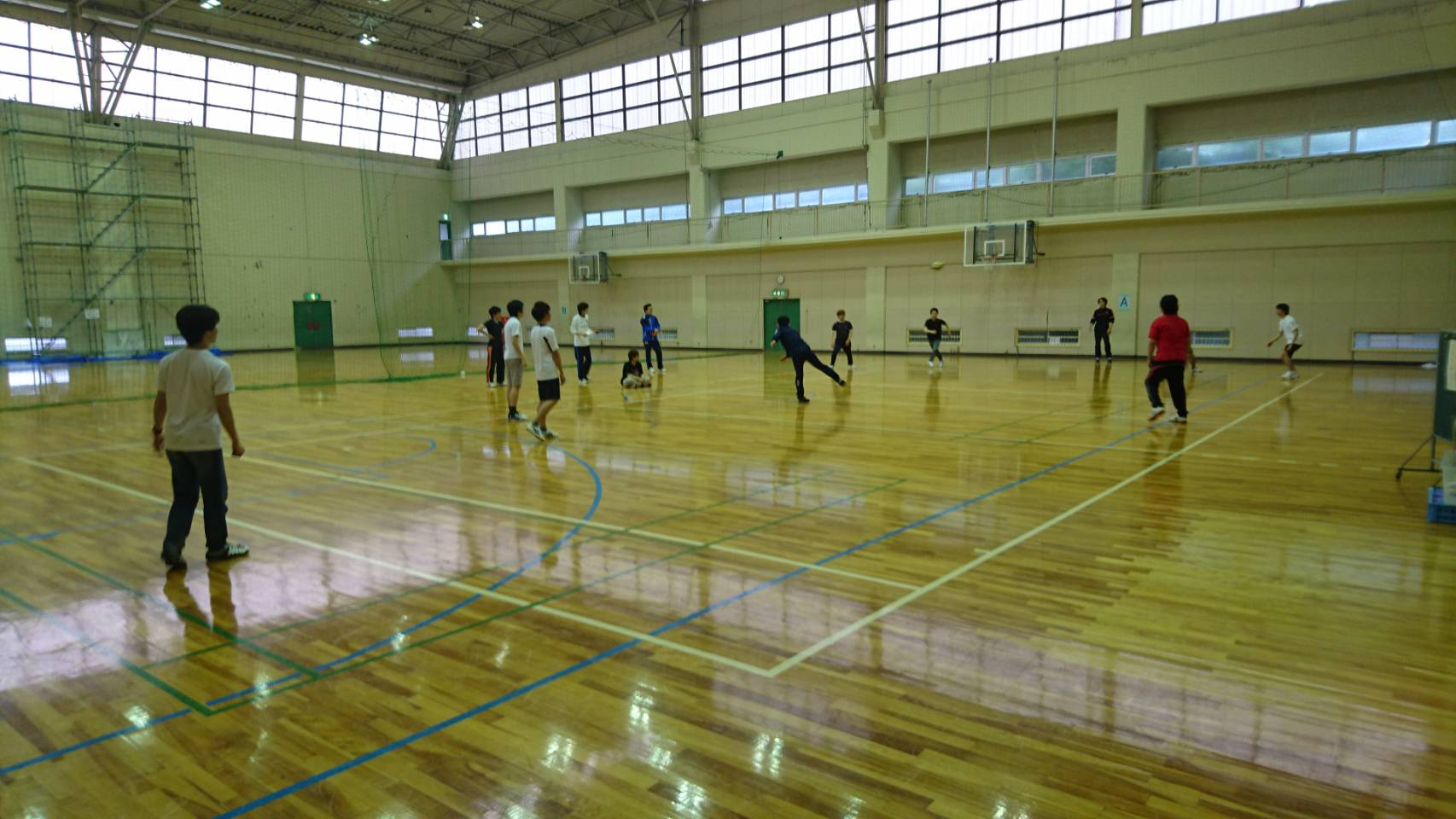 ドッジボール(新歓合宿2017)