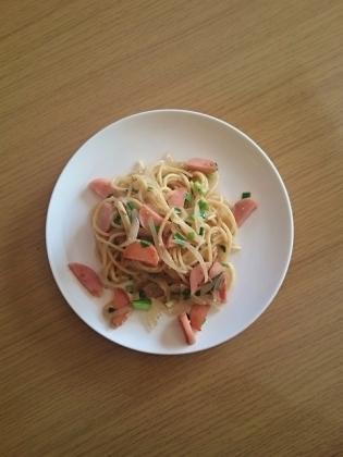 ありあわせスパゲッティ