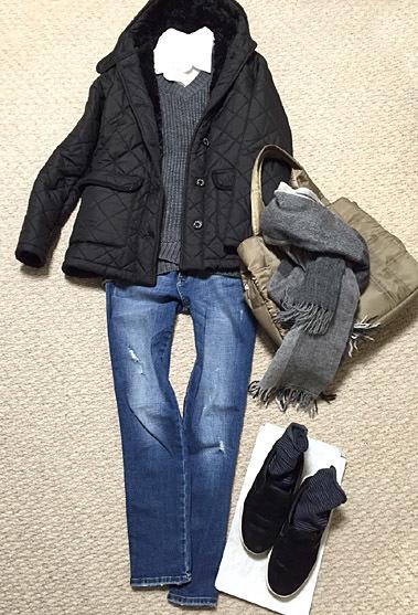 冬コートをしまうことができません…