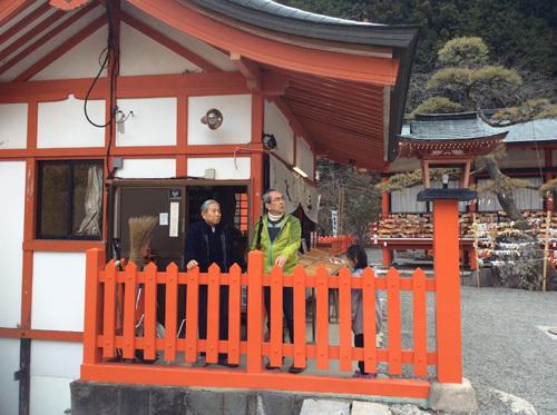 20170319 金櫻神社での対談