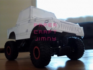 paper craft jimny s