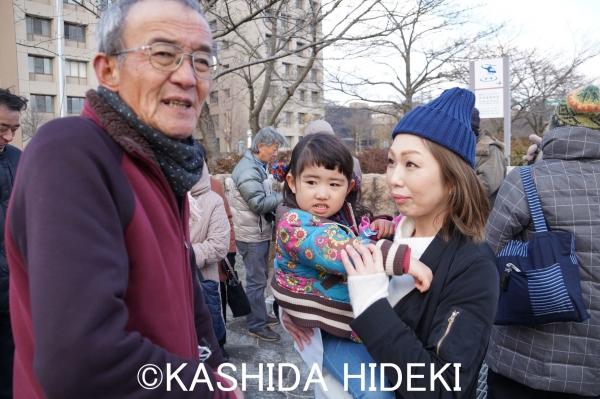 井上さんと若いお母さん