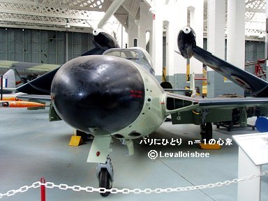 IWM博物館Sea Venom downsize